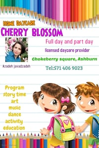 Home daycare Ashburn, 20147