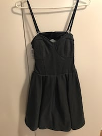 Aritzia Talula Cambria Charcoal Dress BNWT Toronto, M8Z 3Z7