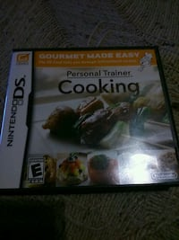 Personal trainer cooking Nintendo ds London, N5W 2Y8