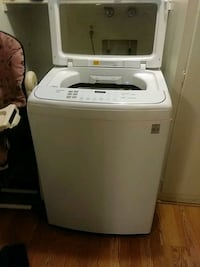 LG washer and LG dryer