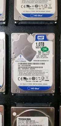 1 TB 2.5 NOTEBOOK HDD