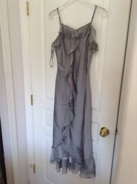 Silver Chemise evening dress ( new)  Vancouver, V5M