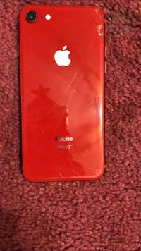 Red iPhone 8 , 64gb 52 km
