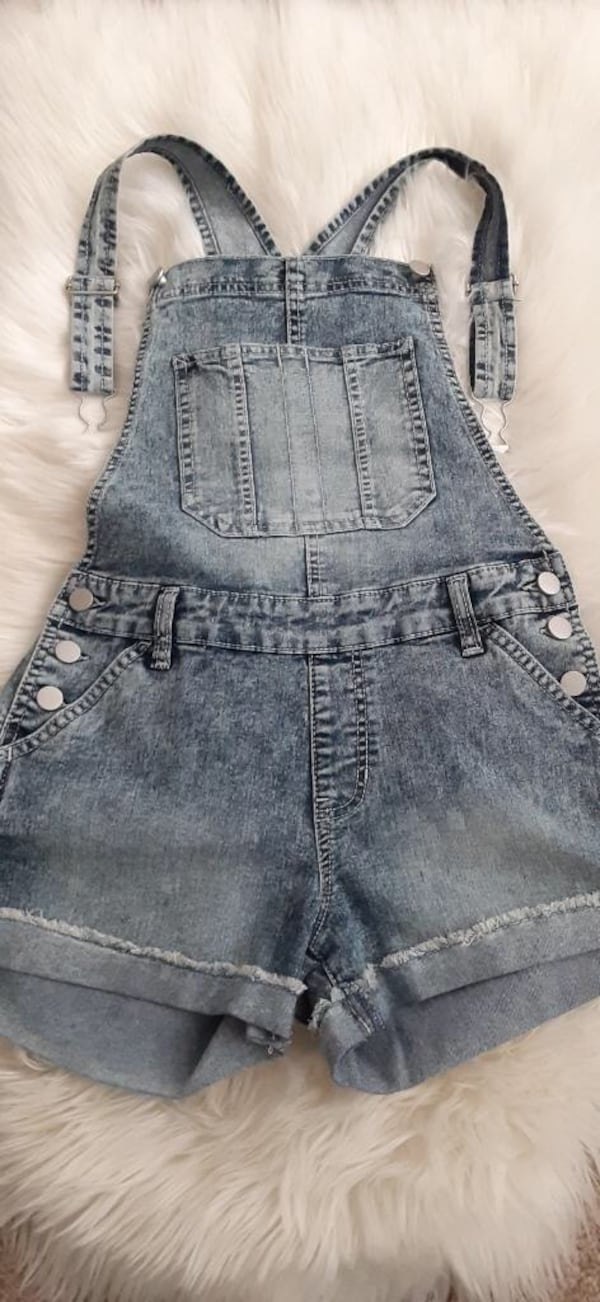 Super cute denim overal size S 0
