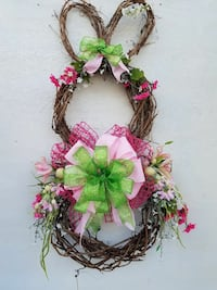 Easter Bunny Spring Wreath 29 mi