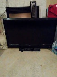 black flat screen TV with no remote 55 km