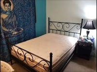 Double sized bed and frame  Vancouver, V5Z