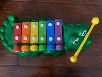 Fisher Price Alligator Xylophone Toy  Mississauga, L5N 7T7