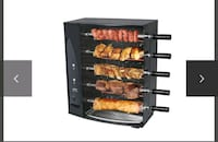 Rotary Eletric grill with 5 Swords Toronto, M9A 4M8