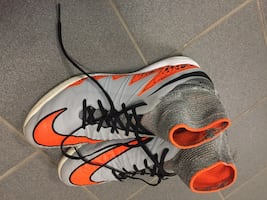 Nike Hypervenom high tops indoor soccer