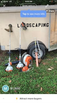Landscaping tool and trailer  Columbia, 29223