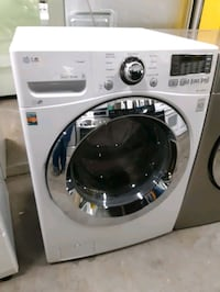 LG FRONT LOAD STEAM WASHER LIKE NEW WORKING PERFEC