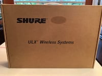 Shure ULX wireless microphone system with body pack Chantilly, 20152