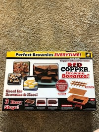 Copper Brownie Pan Charlotte, 28278