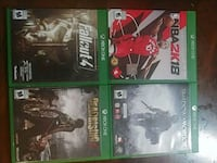 Xbox games $15 each or $50 for all Toronto, M4C 4X4