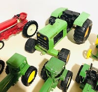 Huge Farm Machines! Die cast Pressed Metal Farm Tractors! Milton, L9T 4H8
