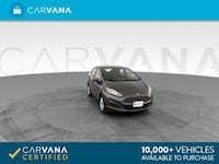 2018 Ford Fiesta sedan SE Sedan 4D Black <br />