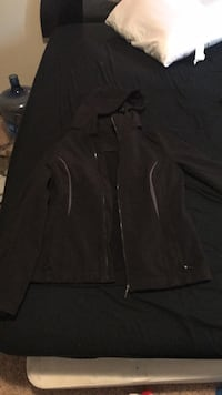 Black zip-up jacket Stafford, 22556