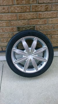 "17"" Alloy Rims and Tires Toronto"