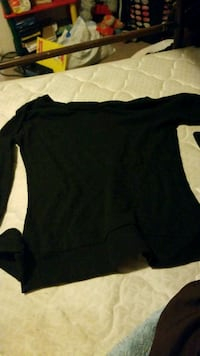 black boat-neck sweater Chehalis, 98532