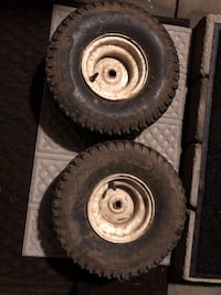 2 tractor rims and tires Frederick, 21702