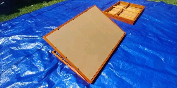 ART BOARDS - CHERRY WOOD - EX cond FREE DELIVERY