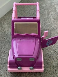 Jeep, camper, bed - our generation/American girl lot