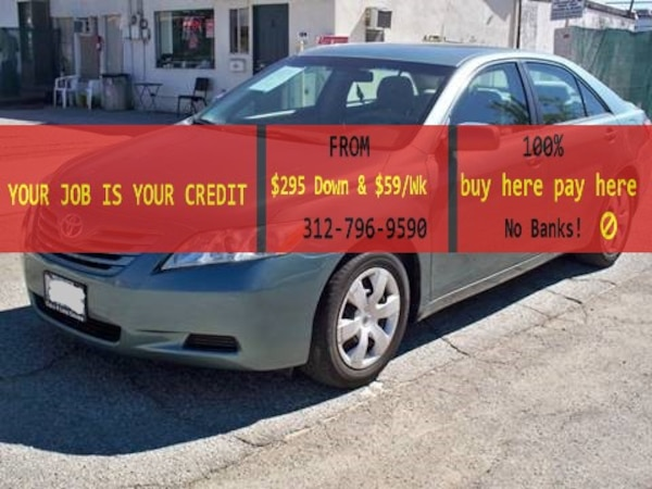 Toyota Pay By Phone >> 2009 Toyota Camry Buy Here Pay Here