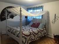 Bed frame and queen size mattress Gatineau, J9H 2Y6