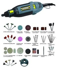 Performax™ 1.5-Amp Corded Rotary Tool with 102 Piece Accessory Kit