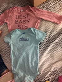 baby's three assorted onesies Surrey, V3W 4L3