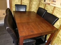 WOODEN DINING TABLE WITH 6 CHAIRS  Toronto, M4B 2J6