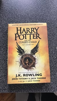 Harry Potter and the Cursed Child by J.K. Rowling book