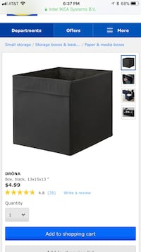 4 storage boxes brand new still in package
