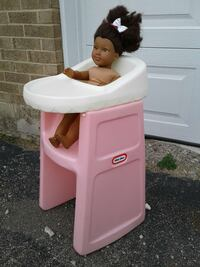 Used Vintage Little Tikes Doll High Chair For Sale In