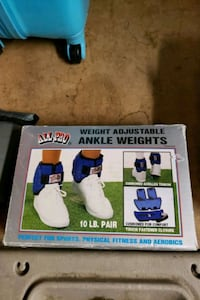 ANKLE WEIGHTS-ADJUSTABLE