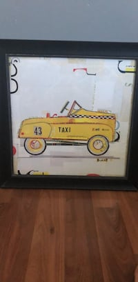 Retro Toys Retro Yellow Taxi Piece 1 of 2 set series