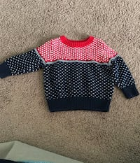 Old navy red white blue sweater Lloyd, 12528