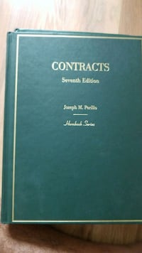 Contracts hornbook Washington, 20005
