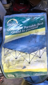 Queen size portable bed good for camping Surrey, V4A 3Z7