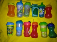 13 Piece Toddler Sippy Cup Lot Spokane, 99207