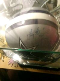 Troy Aikman signed helmet Chestertown, 21620