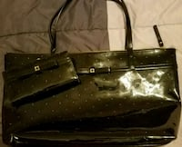 Black Kate Spade tote and wallet. Henderson, 89012