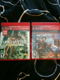 Uncharted 1 and 2
