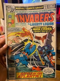 Marvel Comic The Invaders The Liberty Legion 37  New York, 11213