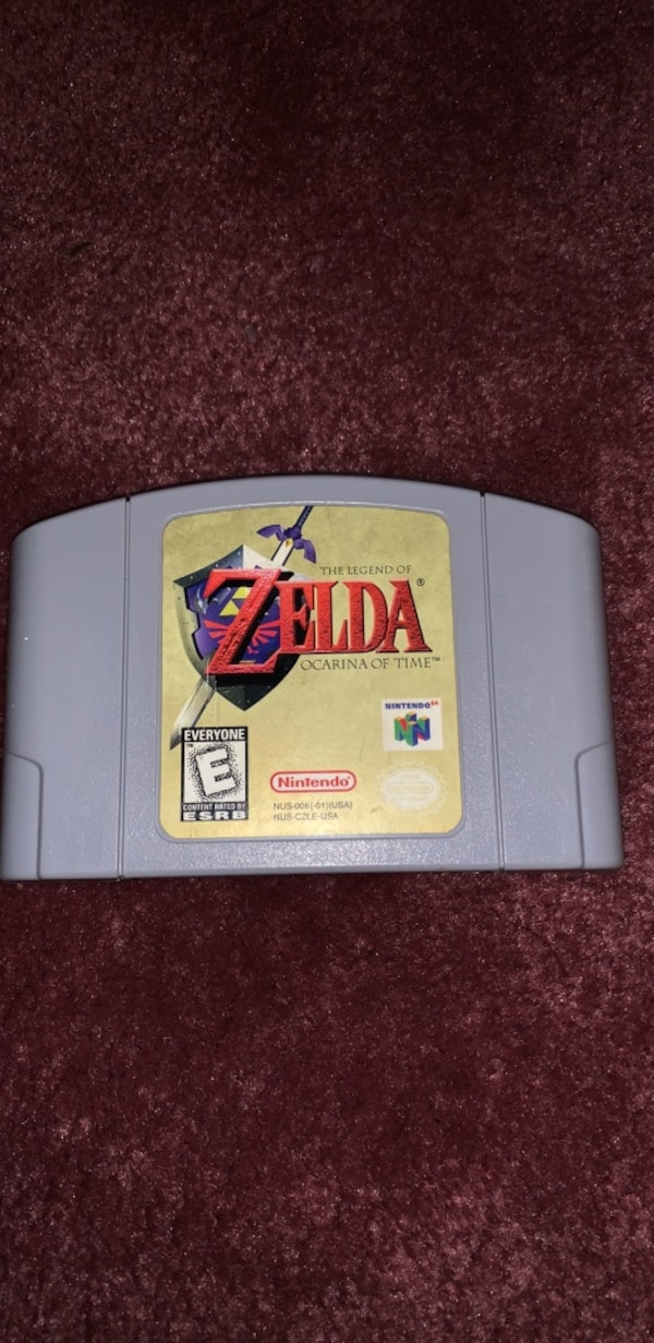 Ocarina of time n64