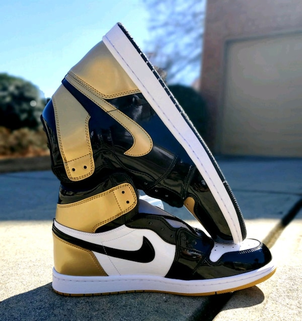 "sports shoes 59404 5b289 Air Jordan 1 Retro High OG NRG ""Gold Top 3"""