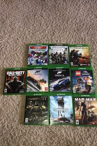 Lot of 10 Xbox One games Lexington, 40509