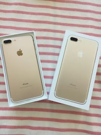 rose gold iPhone 7 plus with Apple warranty