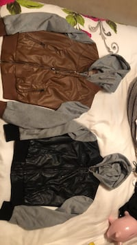 Faux leather sweater/jacket Richmond Hill, L4E 4B6